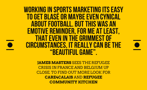 James Masters is right about the power of sport btw
