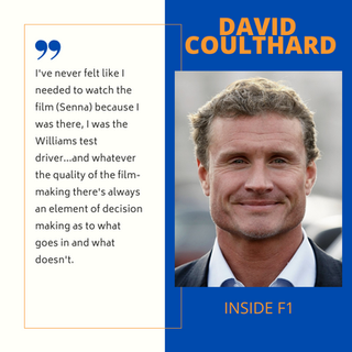 David Coulthard MBE