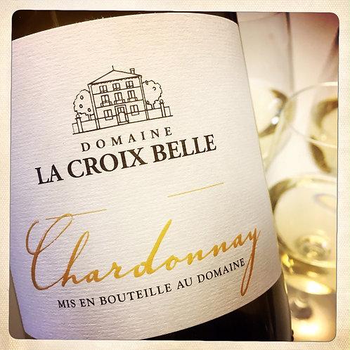 Vin blanc CHARDONNAY 2018 - Languedoc - Domaine La Croix Belle