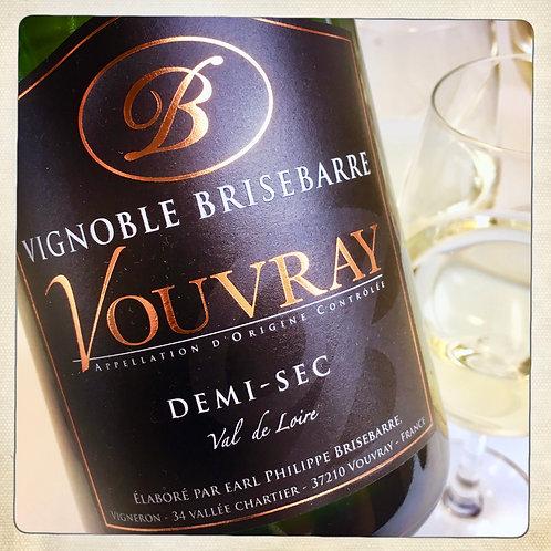 CREMANT DE LOIRE 1/2 sec - Loire - Vignoble Brisebarre