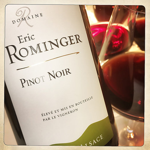 Vin blanc PINOT NOIR 2018 - BIO -  Alsace - Domaine Éric Rominger