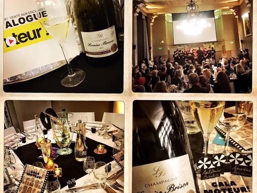 Les Champagnes Louise Brison et La Clef des Vins soutiennent l'association Moteur !
