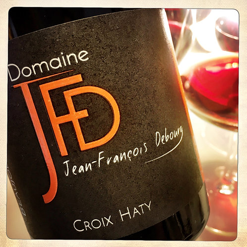 Vin rouge CROIX HATY 2017 - BIO - Beaujolais - JF Debourg