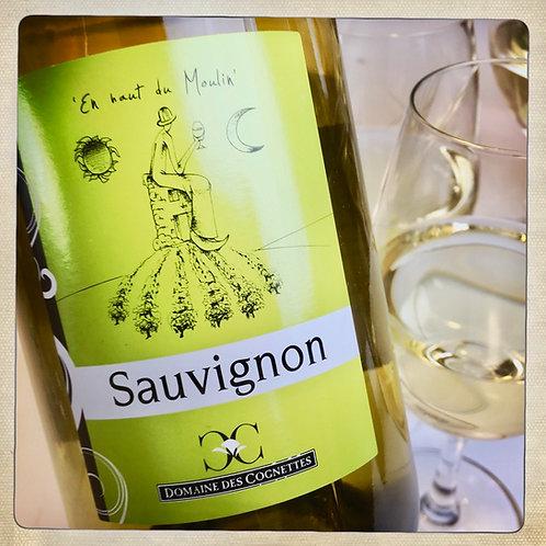 Vin blanc EN HAUT DU MOULIN 2017 - BIO - Loire - Domaine des Cognettes