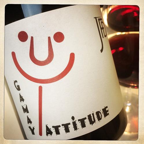 Vin rouge GAMAY ATTITUDE 2017 - BIO -  Beaujolais - JF Debourg