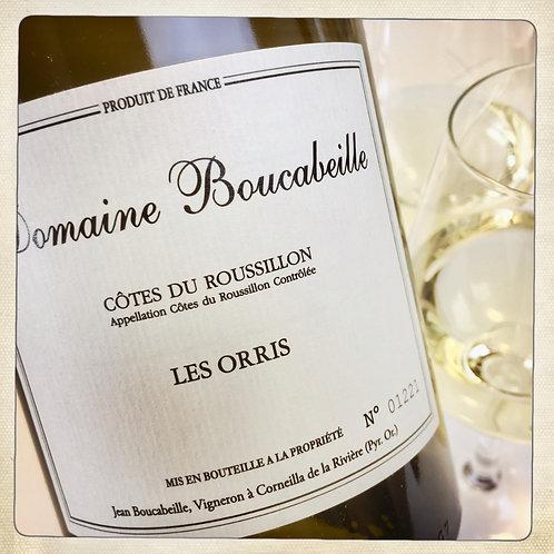 Vin blanc LES ORRIS 2017 - BIO - Roussillon - Domaine Boucabeille