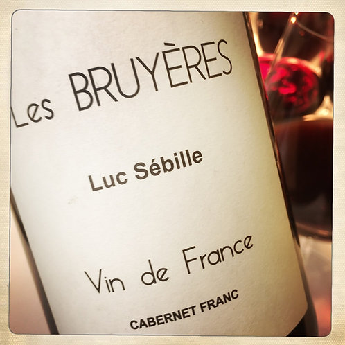 LES BRUYERES 2016 - BIO - Loire - Domaine Luc Sébille