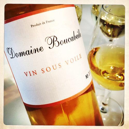 VIN SOUS VOILE 2013 - BIO - Sans soufre ajouté -Roussillon - Domaine Boucabeille