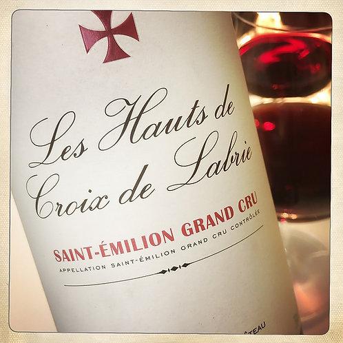 LES HAUTS 2012 - Bordeaux - Château Croix de Labrie