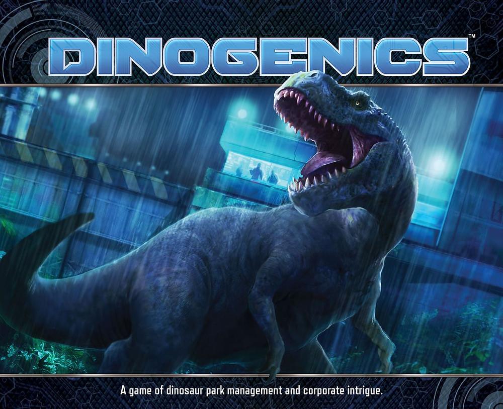 DinoGenics Cover