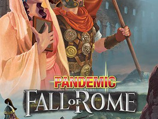 MHGG Review - Pandemic: Fall of Rome