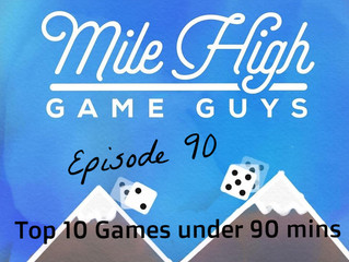 MHGG List - Top 10 Games Under 90 Minutes