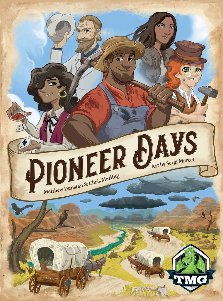 Pioneer Days box art