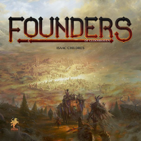 Founders of Gloomhaven box art