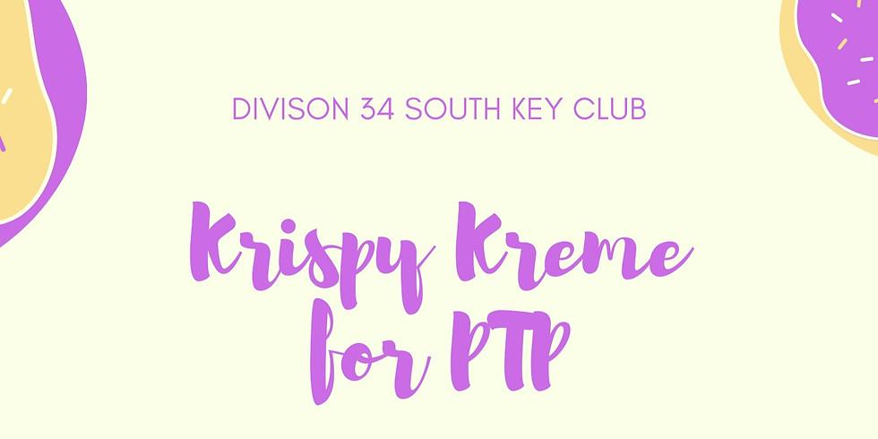 Krispy Kreme for PTP Fundraiser