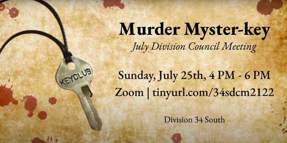 Murder Myster-KEY   July DCM