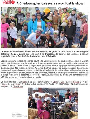 20190531 - OUEST FRANCE - CAISSES A SAVO