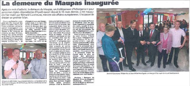20121006 - PRESSE DE LA MANCHE - OCTOBRE 2012