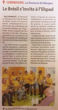 20191023 - PRESSE DE LA MANCHE - ARTICLE