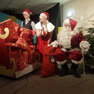 Photo prise lors d'un Arbre de Noël !