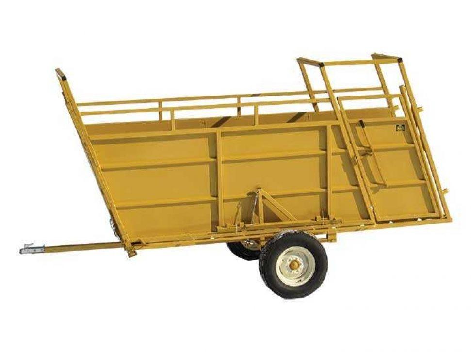 Souix Steel Portable Loading Chute