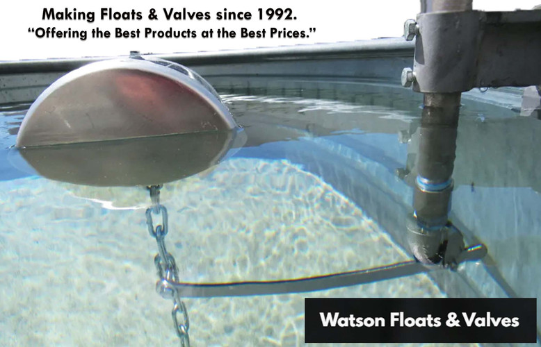 Waston Floats and Valves