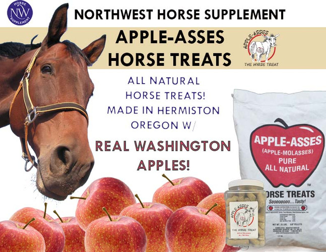 NW Horse Supplement Apple Ass All Natural Horse Treats