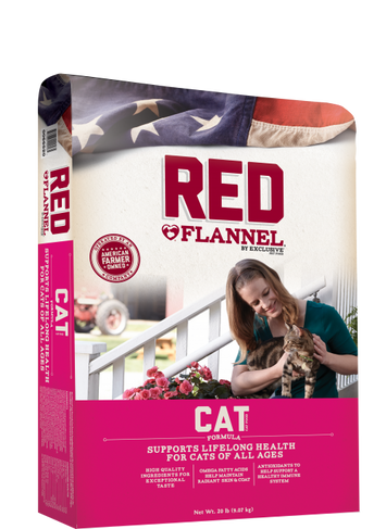Red Flannel Cat