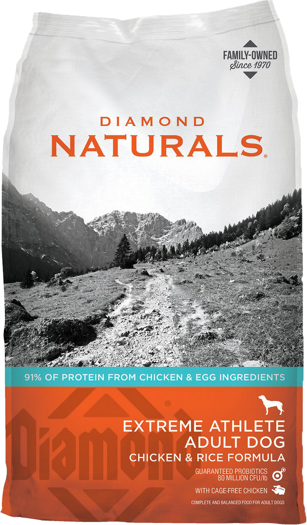 Diamond Extreme Athlete Chicken and Rice Formula