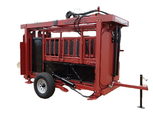 Hydraulic Squeeze Chute Stationary or Portable