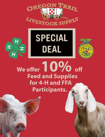 4-H and FFA Discount