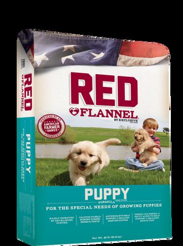 Red Flannel Puppy
