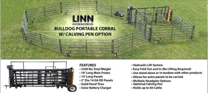 Bulldog Portable Corral