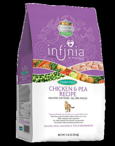 Infinia® Grain-Free Chicken & Pea Recipe