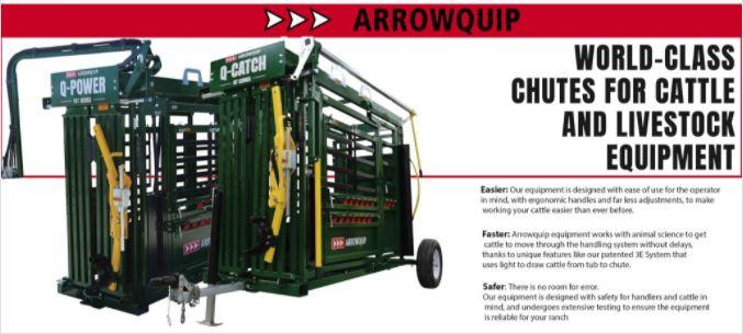 Arrowquip Cattle Chutes