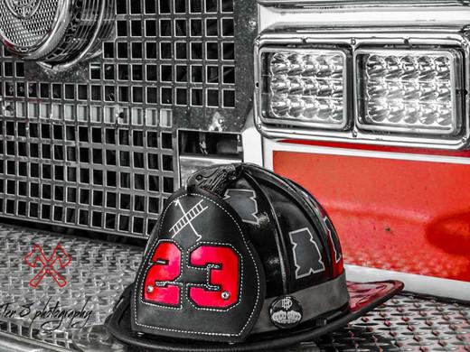 Harvest Firefighter Helmet