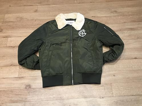 DLMTG aviator bomber jacket