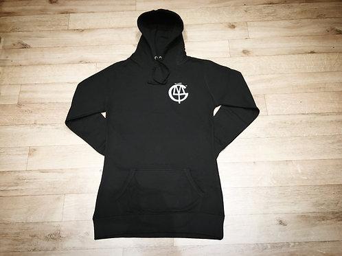 Women's longline hoodie
