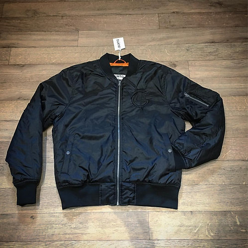 EXCLUSIVE DLMTG black on black bomber