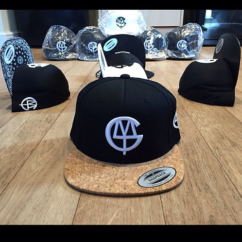DLMTG snap back with cork effect peak