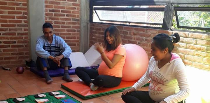 Curso psicoprofiláctico Curso prenatal Yoga en embarazada Doula embarazada df
