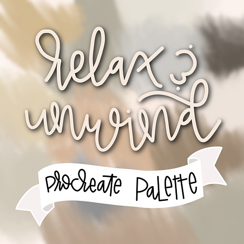 Relax and Unwind Palette