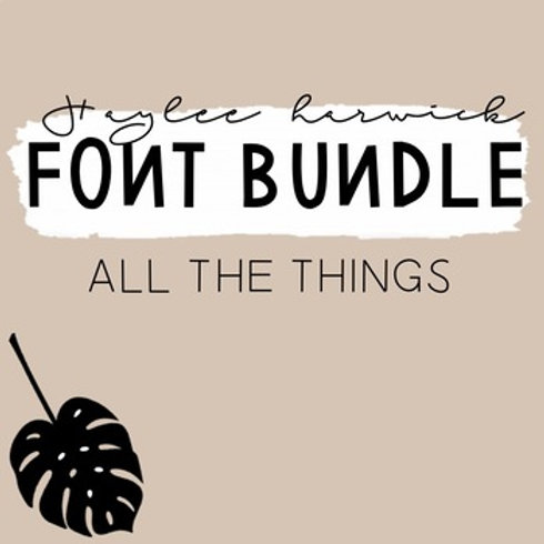 HH Fonts Bundle