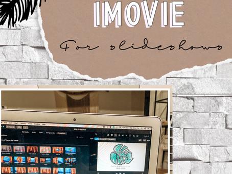 How to Use iMovie to Make a Slideshow