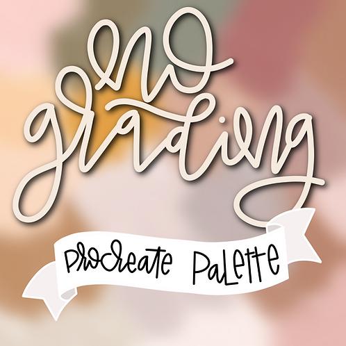 No Grading Palette