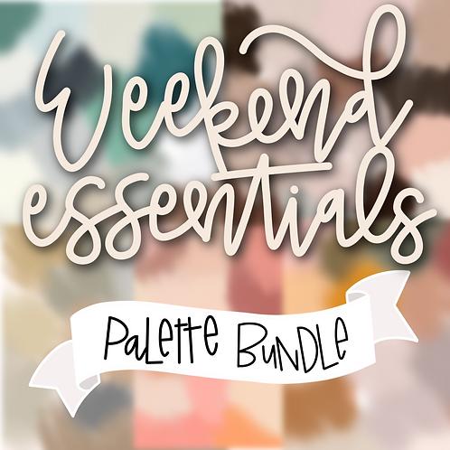 Weekend Essentials Palette Bundle