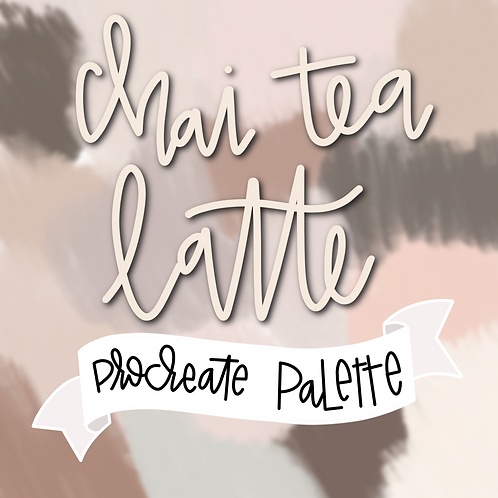 Chai Tea Latte Palette
