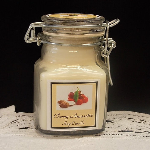 Cherry Amaretto Small Apothecary Soy Candle