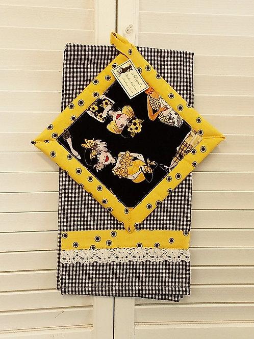 Bee Happy Towel Set