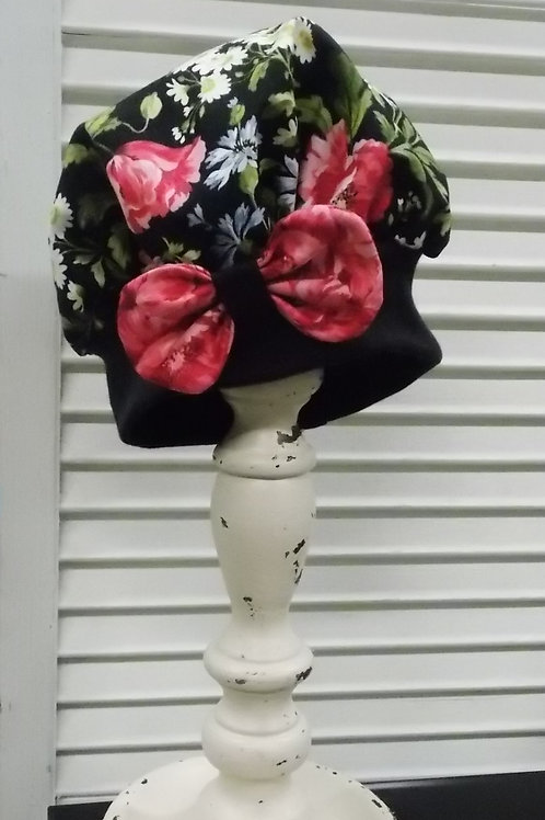 Roses Bakers Hat